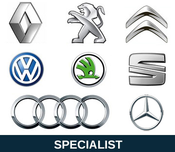 French and German car specialists